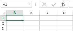 Cells in Excel 2013 screenshot