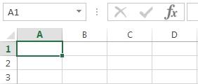 Cells in Excel 2013 screenshot